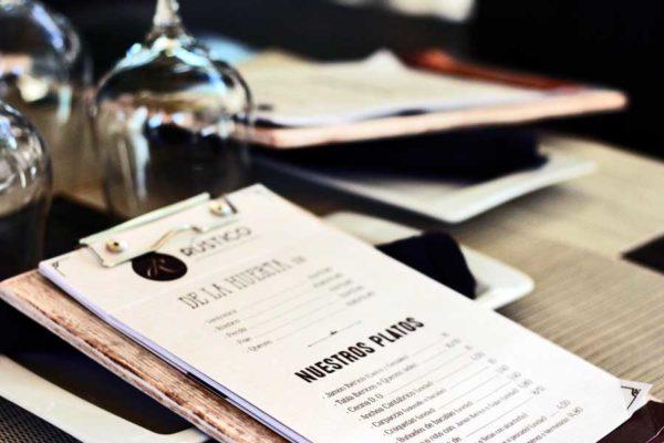 Rústico Restaurante · Nuevas cartas