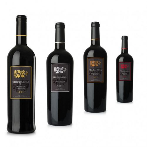 Dirección de arte · Etiquetas de Vino