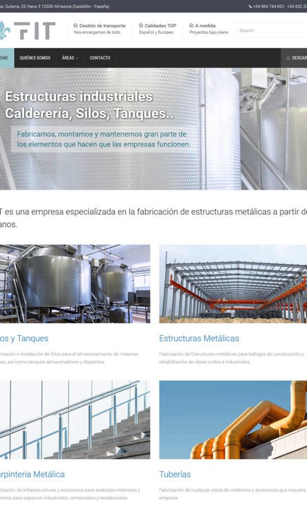Diseño web FIT