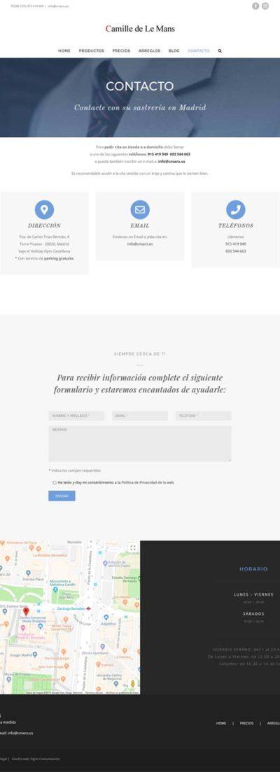 Camille de Le Mans Madrid Web